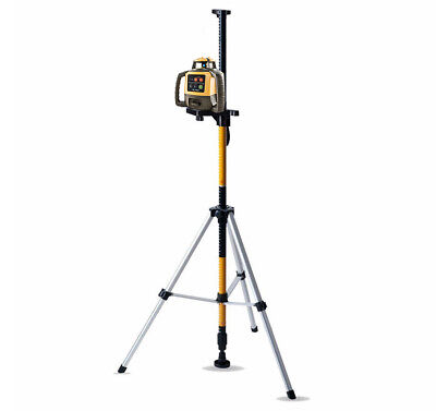 Topcon Rl-h5a Self-leveling Rotary Grade Laser W Telescoping Laser Pole Rod