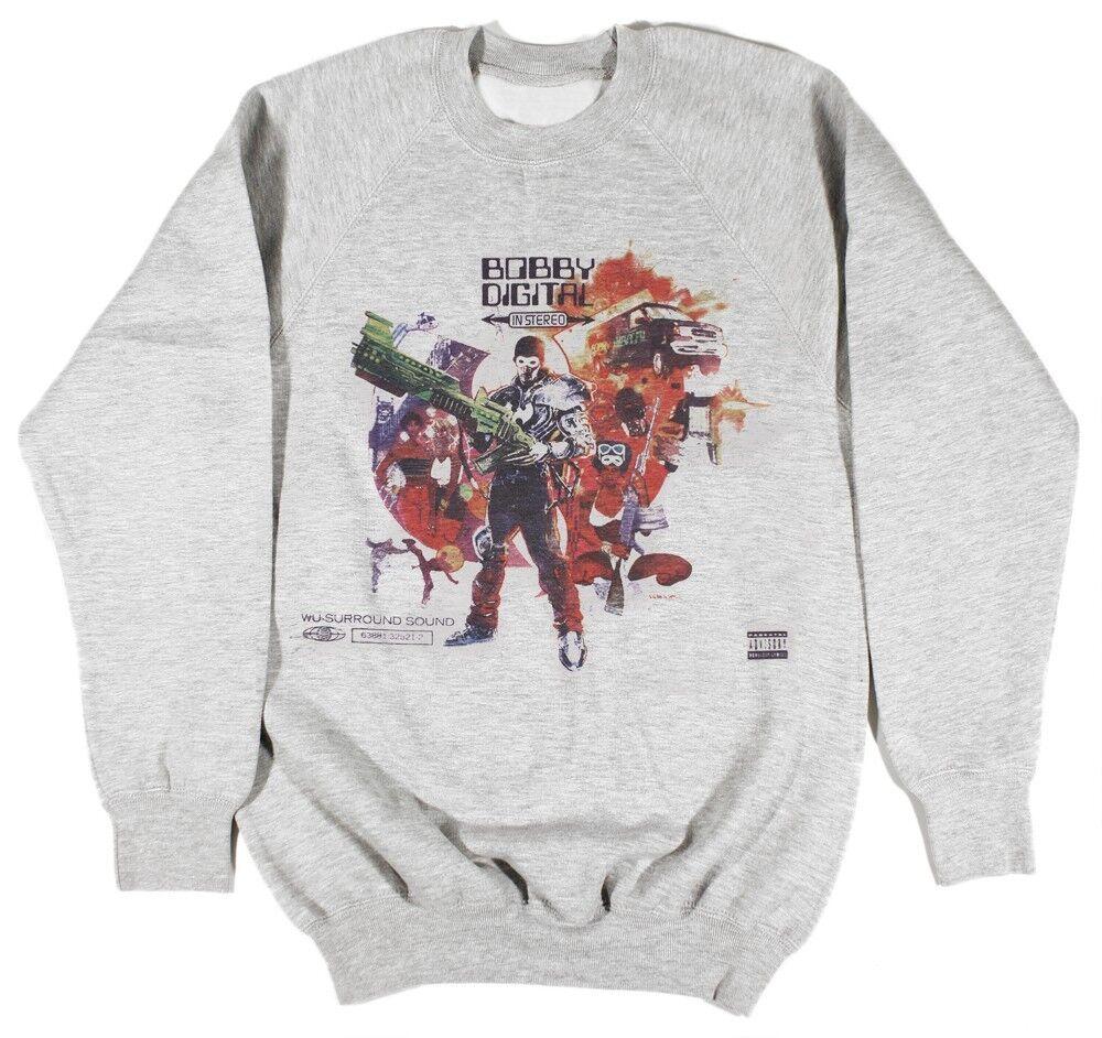 Rza bobby digital gris sweat taille s-xxl wu-tang odb raekwon hip hop supreme
