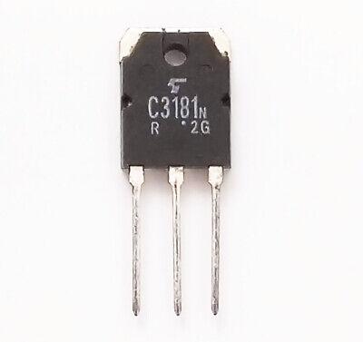 20pcs Toshiba 2sc3181 Npn Transistor 120v8a For Audio