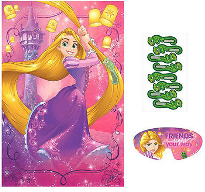 TANGLED Dream Big PARTY GAME POSTER ~ Birthday Party Supplies Activitity Decor