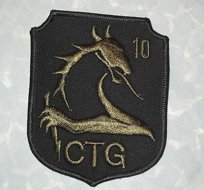 CTG Blue Dragon Patch - New Jersey State Prison Competitive Tactical Group