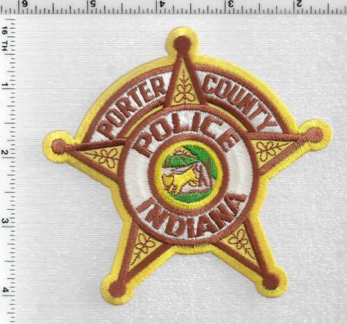 Porter County Police (Indiana) 2nd Issue Shoulder Patch
