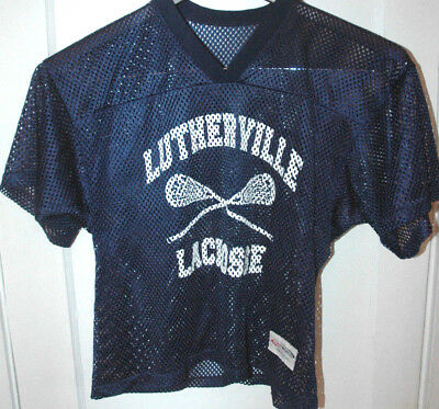 Vtg LUTHERVILLE LACROSSE Practice Jersey LAX Baltimore MARYLAND Rare TEAM  ISSUE 698b1cc64