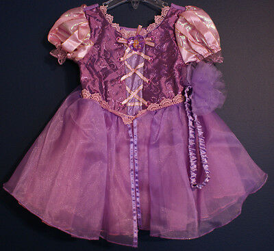 Disney Store Rapunzel Tangled Costume Dress Toddler 3-6 Months
