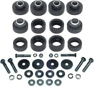73-81-Camaro-Subframe-Bushings-Body-Mount-Bushing-Kit-with-Hardware-New