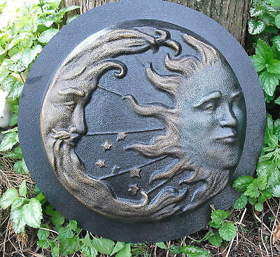 """Eclipse stepping stone mold over 1"""" thick mould plaster concrete 11"""" x 1.25"""