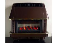 Robinson Willey Firecharm LFE Electronic 4.4 KW Gas Fire (Bronze)
