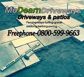Driveways-patios-fencing . MODEARN DRIVEWAYS