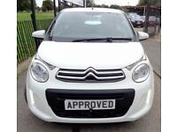 CITROEN C1 1.0 FEEL 5d 68 BHP Apply for finance Online today! (white) 2015