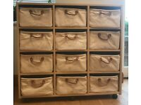 Great Little Trading Company Lazzari 12 drawer merchant chest for toy storage