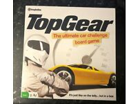 Top Gear The Ultimate Car Challenge Board Game New & Sealed