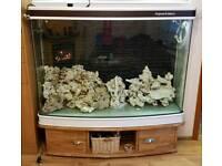Marine xxl fish tank set
