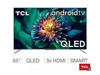"TCL 55"" smart 4k UltraHD QLED HDR10+ warranty"