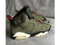 Nike Air Jordan 6 cactus Jack size 6uk