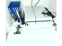 PS4 White 500GB 6 games