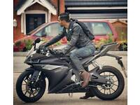 Yamaha yzf r125 abs Grey 2016 model
