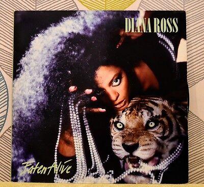DIANA ROSS - Eaten Alive [Vinyl LP,1985] UK ROSS 2 Soul Pop *EXC