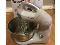 Breville Twin Motor Hand and Stand Compact Mixer