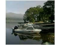 Boat ,trailer & outboard ,Waverider Marina 140