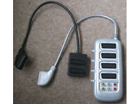 Scart Leads, Co-axial cables and Scart splitters, 50p - £2 each.