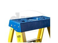 Electricians Heavy Duty Tread Fibreglass Fibre Glass Step Ladder