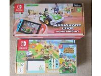 Nintendo Switch with Mario Kart Live