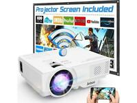 Projector / karaoke speaker wireless/ disco lights