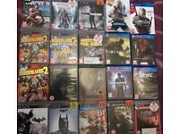 *** 20 PS3 & PS4 GAMES ***