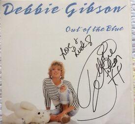 Debbie Gibson Signed Album