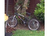 """BMX bike 18"""" wheels black"""