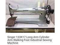 industrial walking foot sewing machine