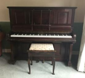 Free piano and stool