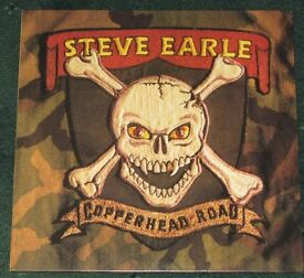 STEVE EARLE - COPPERHEAD ROAD VINYL LP