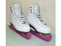 Graf 500 Girls ice skates.
