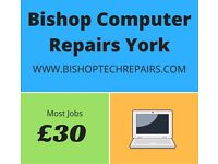 PC, Laptop and Mac repairs in York