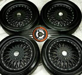 """18"""" Dare DR- RS Alloys 5x112, 5x100 matt black, almost new, tyres as new"""
