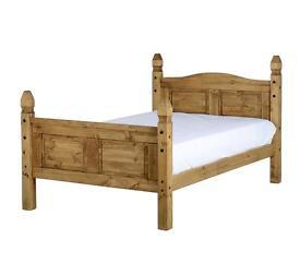 CORONA KINGSIZE HIGH FOOT END BED FRAME