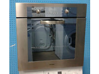 b326 stainless steel kompact integrated single oven comes with warranty can be delivered