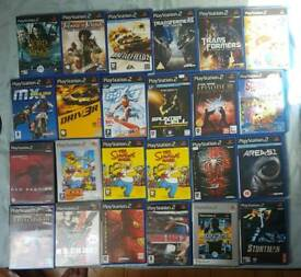 PlayStation 2 games all £1 each