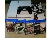 PS4 1TB Boxed with Controller and Games