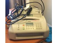 Fax machine telephone answering machine, number recognition BT make excellent condition