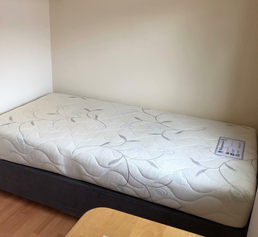 Picture of: Single Divan Bed Base Mattress In Milton Keynes Buckinghamshire Gumtree
