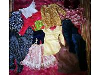 Used 12-18 months girls bundle of clothes 15 items