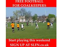 FREE FOOTBALL FOR GOALKEEPERS, JOIN 11 ASIDE FOOTBALL TEAM A92B3