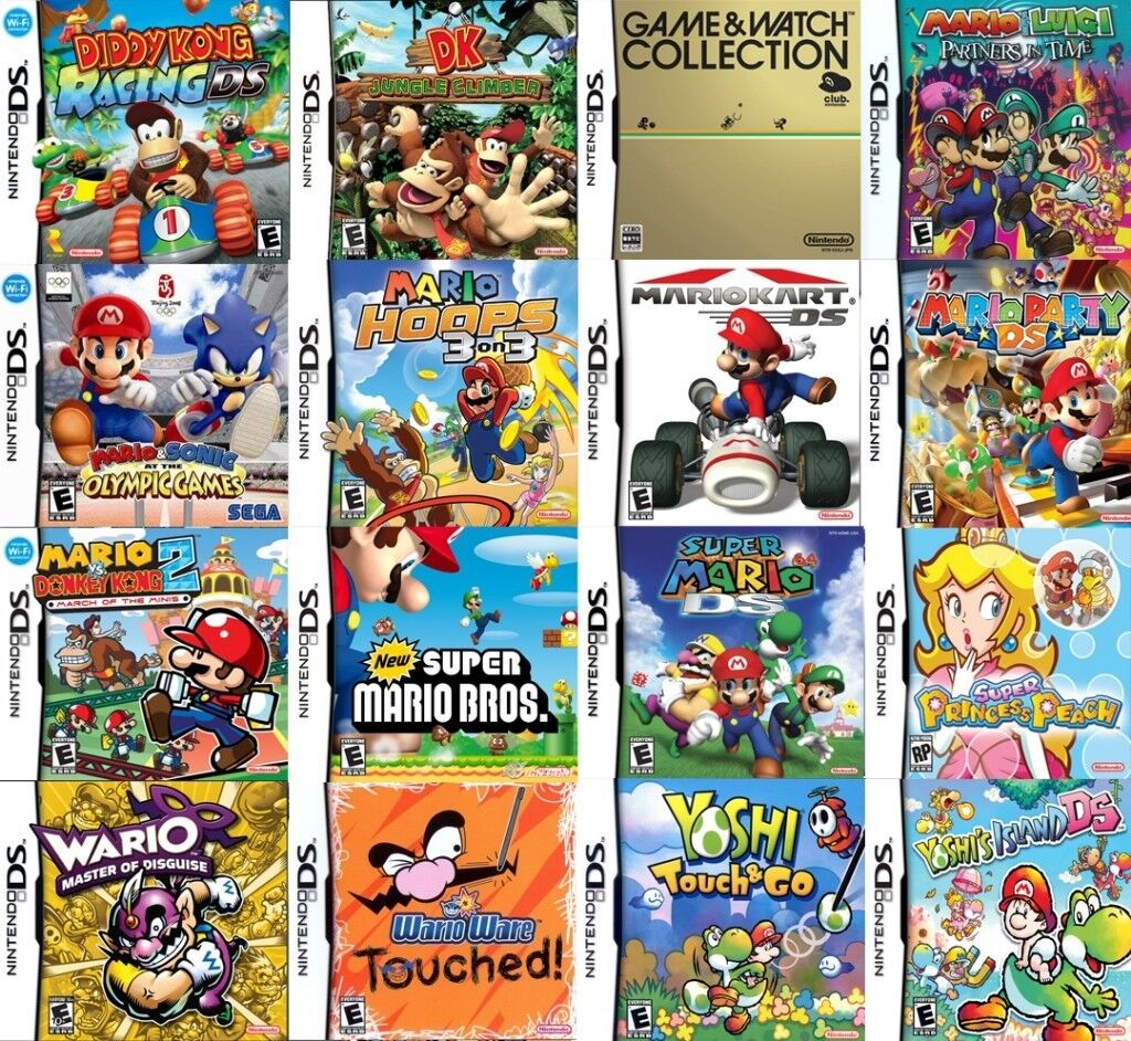 old games consoles in you loft ? - NINTENDO DS console