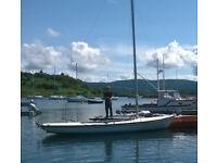Zaadnoordjik Centaur II, Family Dayboat with lifting keel, like a big stable Wayfarer