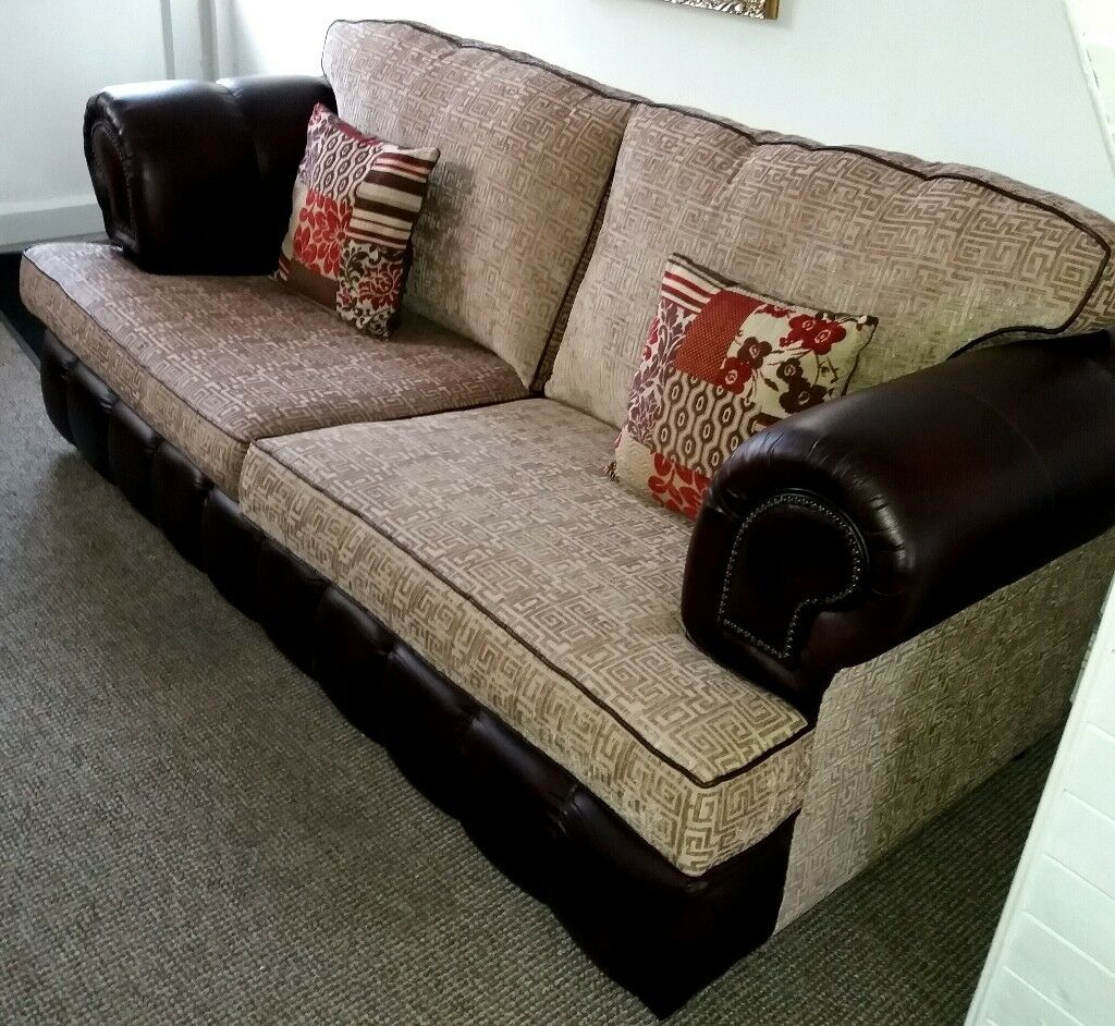 Scs Chesterfield Sofa 3 Seater 2 Seater In Coventry