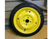 14inch Spacesaver Wheel T115/70R14 Suzuki Alto Citroen Daihatsu Hyundai Kia Toyota