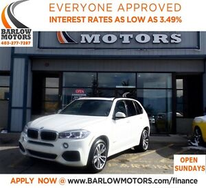 2015 BMW X5 xDrive35i MPCKGE*EVERYONE APPROVED* APPLY NOW DRIV
