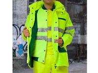 5500 X JOB LOTS OF SAFTEY CLOTHES